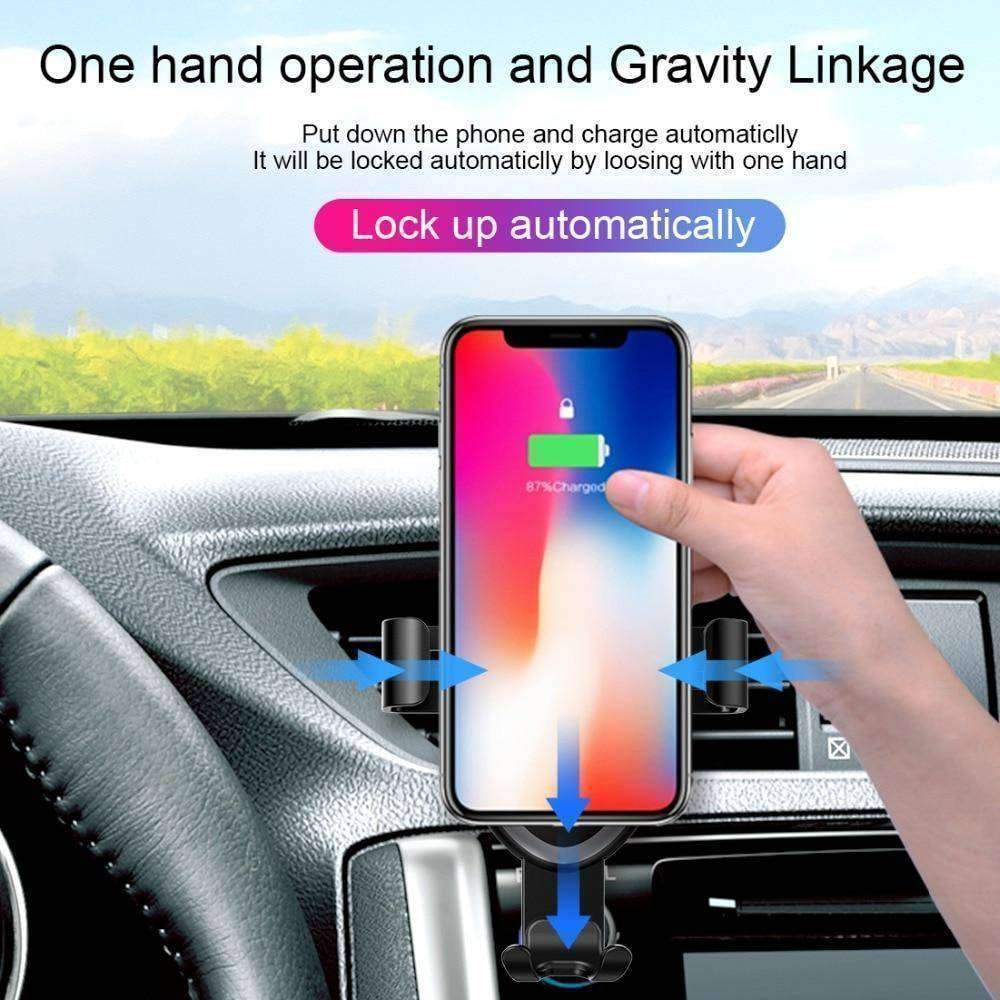 iPHone Qi Wireless Car Charger + Mount - - iPhone Charger - Deal Builder