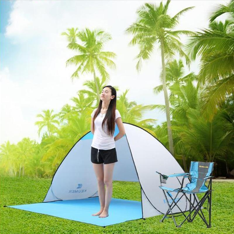 Keumer™ Pop Up Beach Canopy Tent - - Beach Tent - Deal Builder
