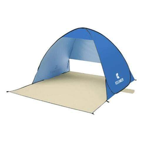 Keumer™ Pop Up Beach Canopy Tent - Blue - Beach Tent - Deal Builder