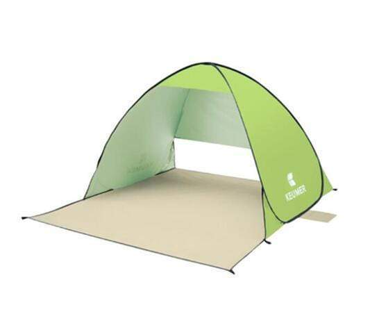 Keumer™ Pop Up Beach Canopy Tent - Green - Beach Tent - Deal Builder