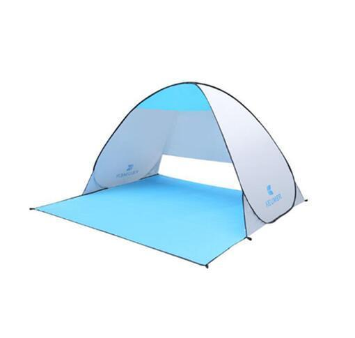 Keumer™ Pop Up Beach Canopy Tent - Light blue - Beach Tent - Deal Builder
