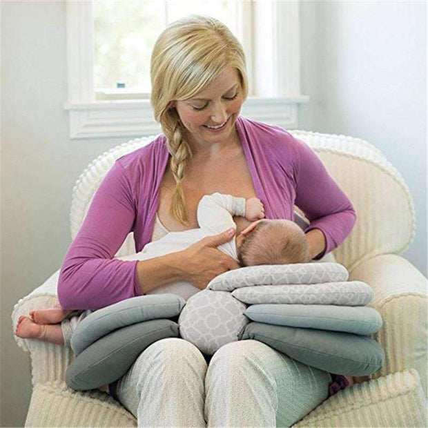 Layered Boppy Nursing Pillow - - Nursing Pilllow - Deal Builder