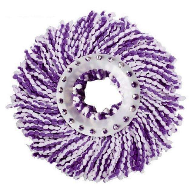 Magic Mop Microfiber Replacement Head - Purple / 2 PACK - Mop Replacement Heads - Deal Builder
