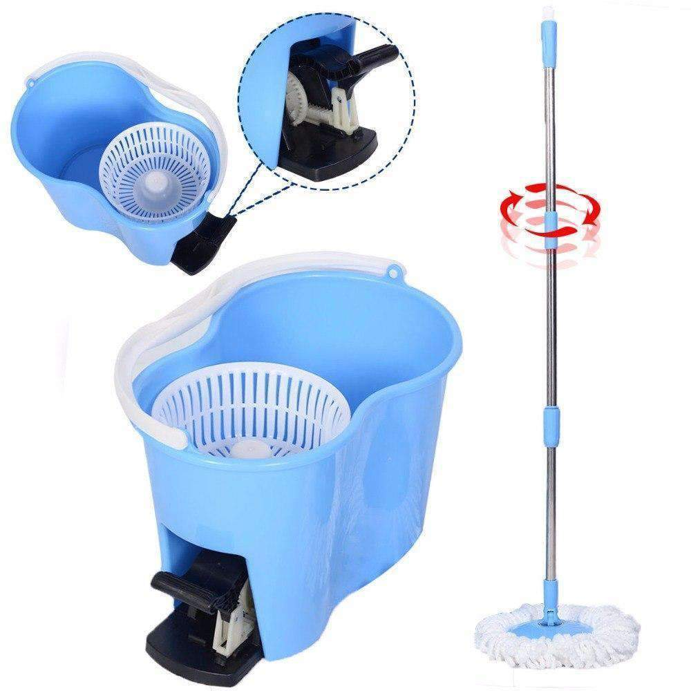 Magic Spin Mop - Blue - Mop - Deal Builder