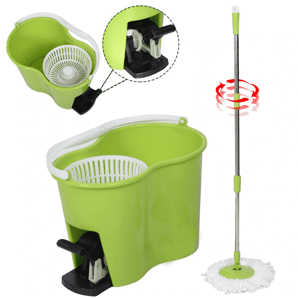Magic Spin Mop - Green - Mop - Deal Builder