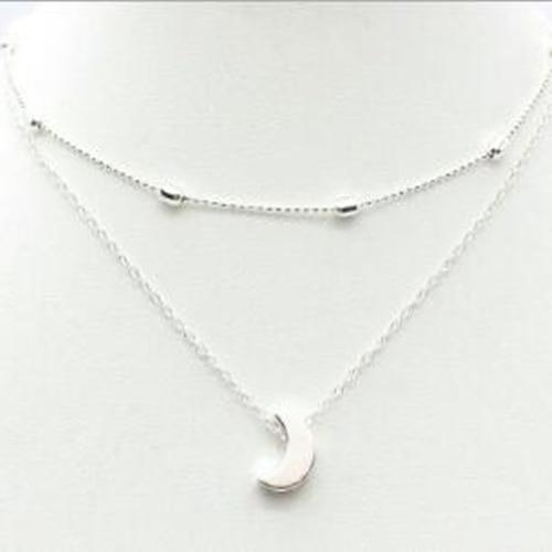 Pendant Necklace - XL41Sliver - Jewelry - Deal Builder