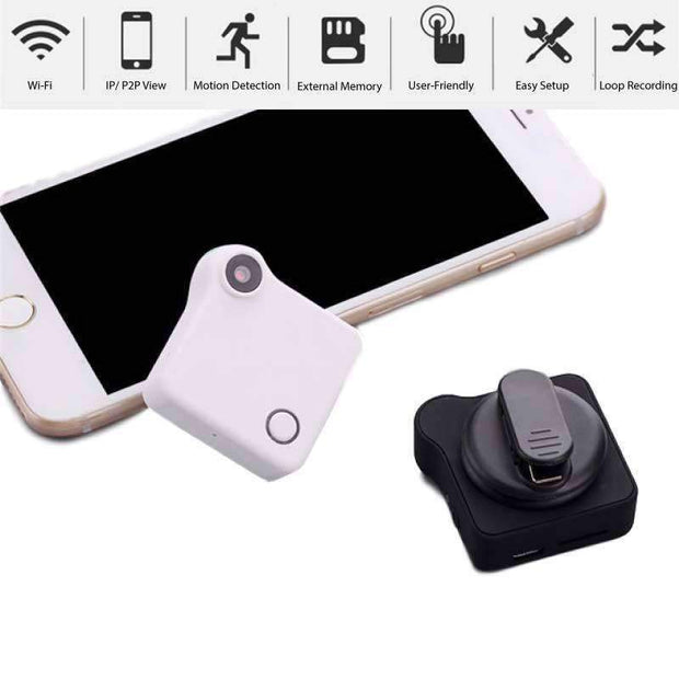 Premium WiFi Portable HD Mini Camera - Black / BUY ONE - HD Mini Camera - Deal Builder