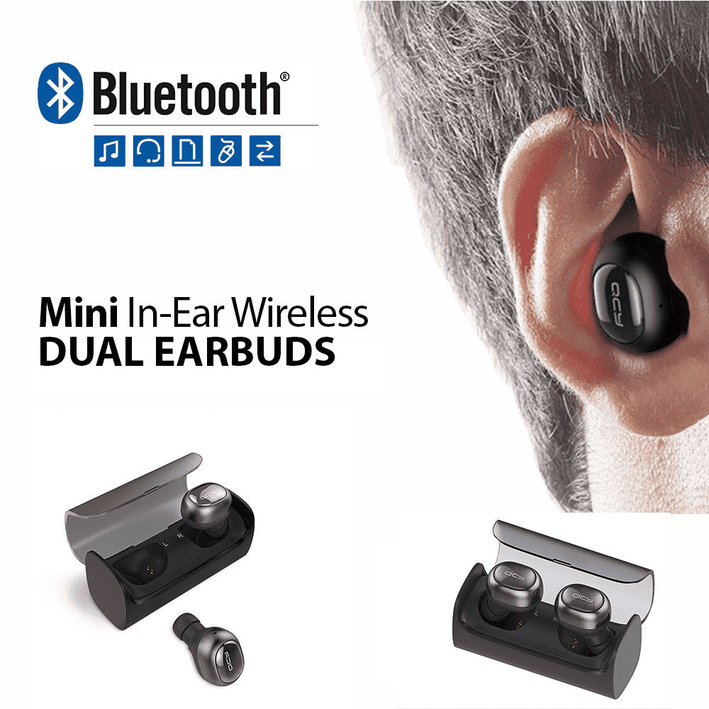 Q29 PRO Mini Wireless Bluetooth 4.2 Dual Earbuds with Charging Station - - BLUETOOTH EARBUD - Deal Builder