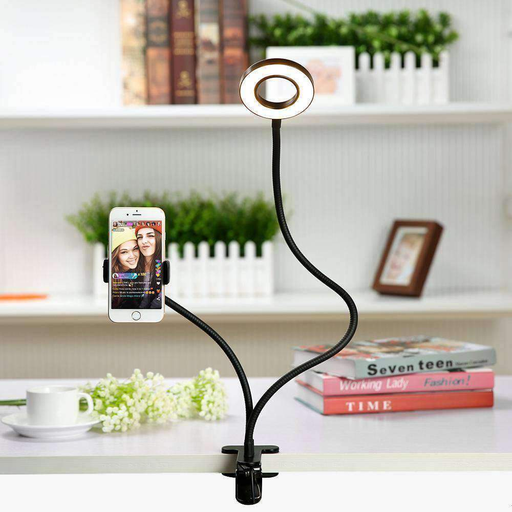 Selfie Ring Light Phone Stand - - Photographic Lighting - Deal Builder