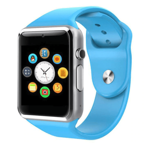 Smart Watch - LIMITED SUPPLY - iOS/Android Supported - Blue - Smart Watch - Deal Builder
