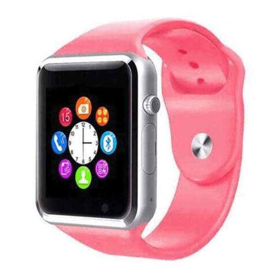 Smart Watch - LIMITED SUPPLY - iOS/Android Supported - Pink - Smart Watch - Deal Builder
