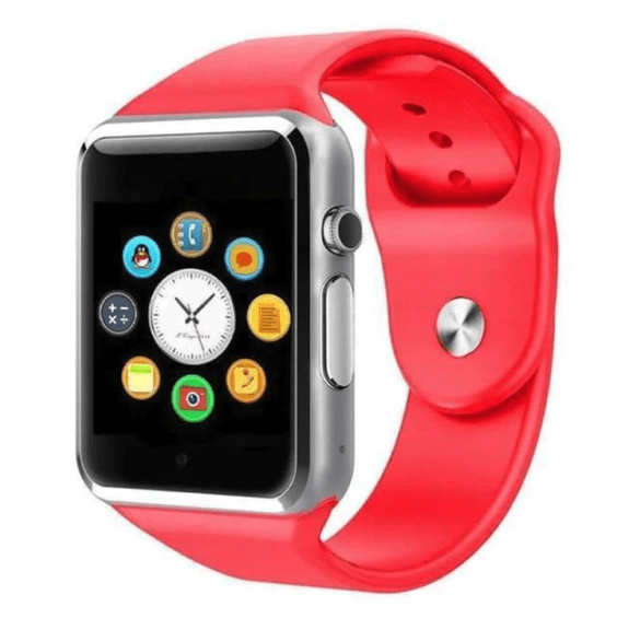 Smart Watch - LIMITED SUPPLY - iOS/Android Supported - Red - Smart Watch - Deal Builder