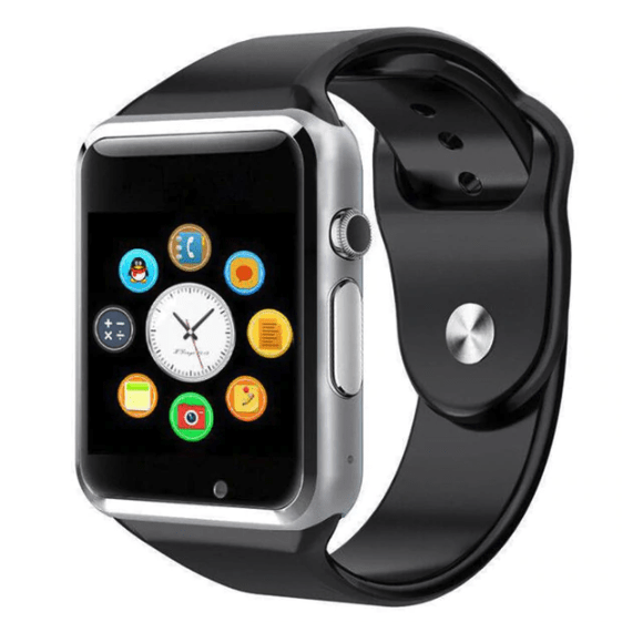 Smart Watch - LIMITED SUPPLY - iOS/Android Supported - Silver - Smart Watch - Deal Builder