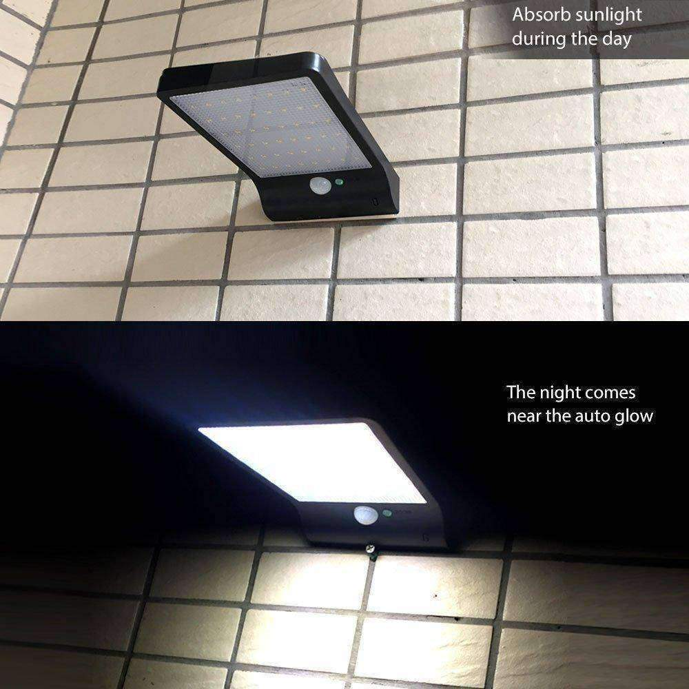 SOLAR OUTDOOR MOTION SENSOR LIGHT - - Outdoor solar lights - Deal Builder