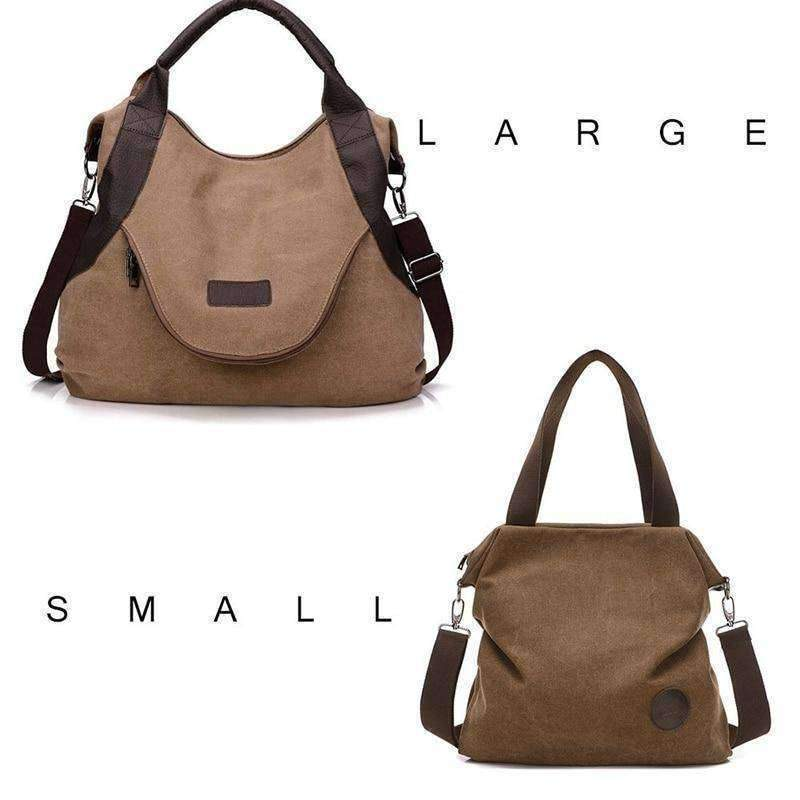 The Petite Outlander - Beige - Shoulder Bags - Deal Builder