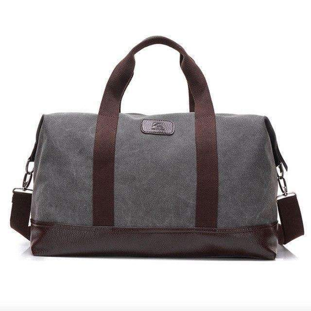The Weekend Bag - Gray - Hand Bags - Deal Builder