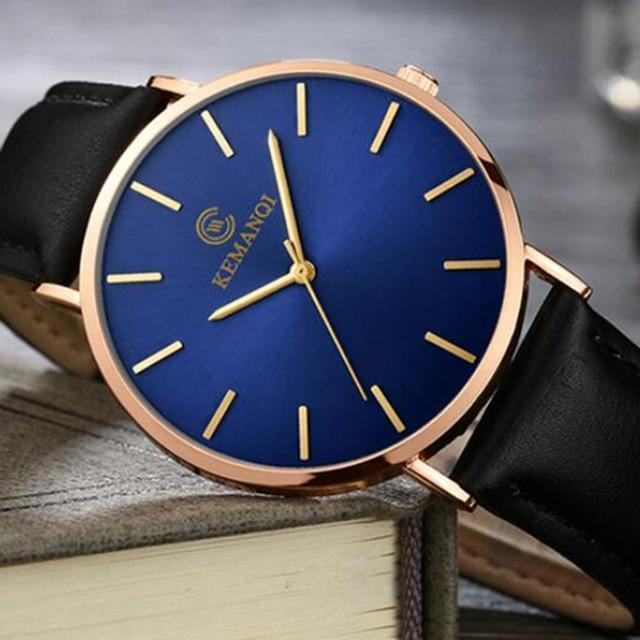 The Workman Watch By Relogio Masculino - Blue/Gold - Watch - Deal Builder