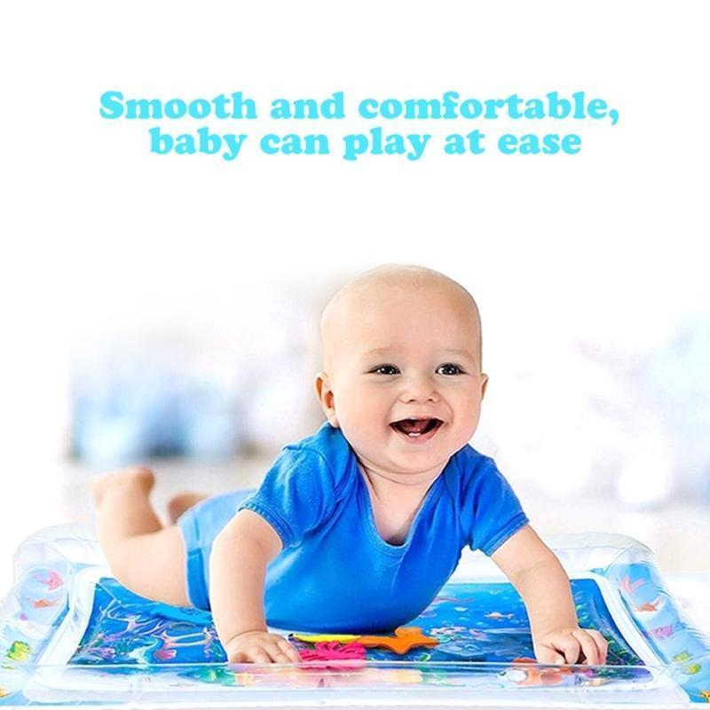 Deal Builder  -  Tummy Time Inflatable Water Mat for Babies  -  A1  -  Baby Mat