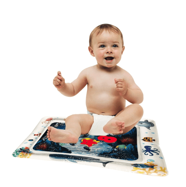 Tummy Time Inflatable Water Mat for Babies - - Baby Mat - Deal Builder