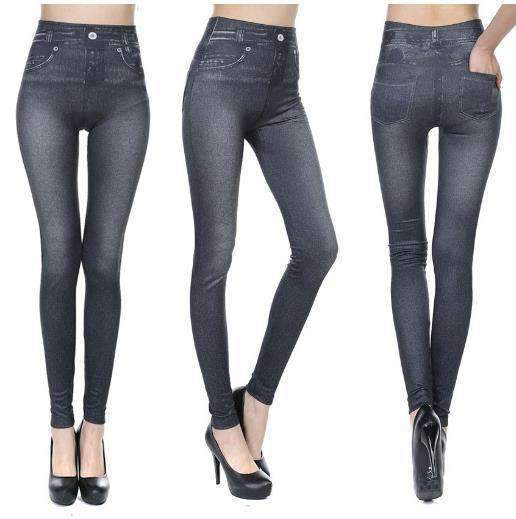 YZZA™ Slimming Jean Leggings (Jeggings) - Black / S/M - Leggings - Deal Builder