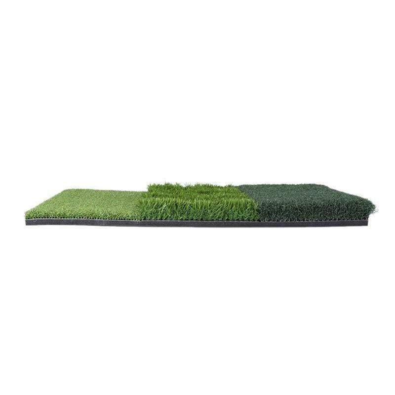 Milliard Authentic 3-in-1 Turf Grass Golf Mat - - Golf Mat - Deal Builder