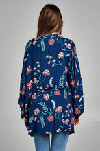 Load image into Gallery viewer, Floral Print Kimono