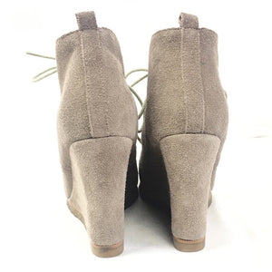 Steve Madden Wedge Tanngoo Round Toe Ankle Boot