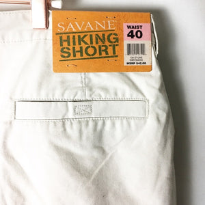 Savane Eco Start Performance Cargo Hiking Shorts