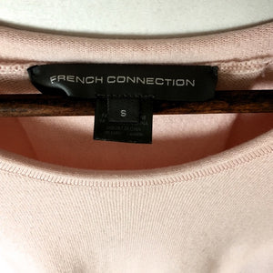 French Connection Split Back High Low Hem Top