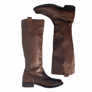 H By Halston Tall Round Toe Riding Boots