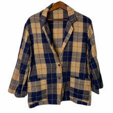Load image into Gallery viewer, Vintage 1960's Chinese Lightweight Plaid Jacket