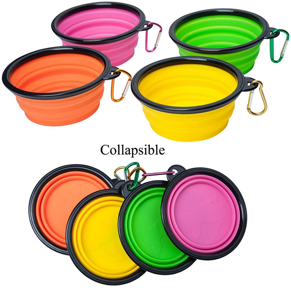 Collapsible Pet Water/Food Bowl.