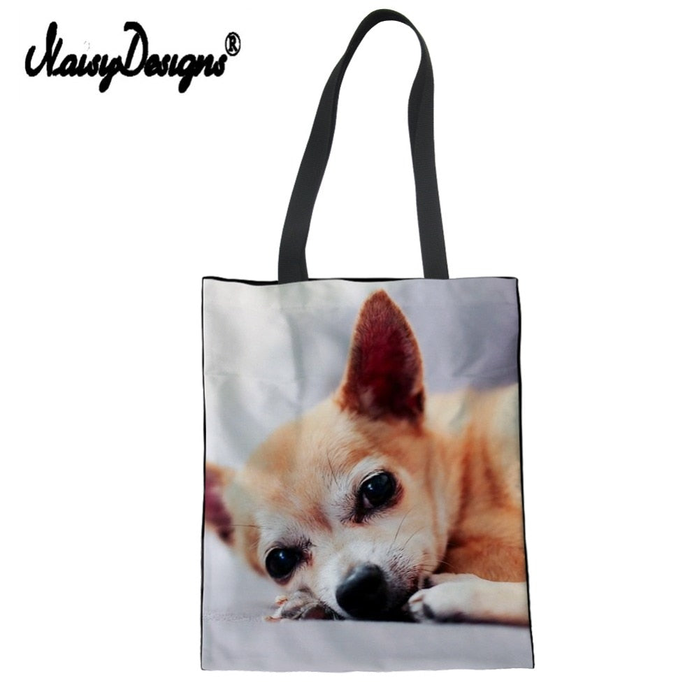Chihuahua Collection Reusable Tote