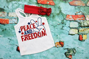 Peace and Freedom - Youth Shirt