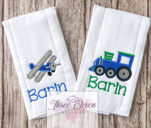 Custom Baby Burp Cloths