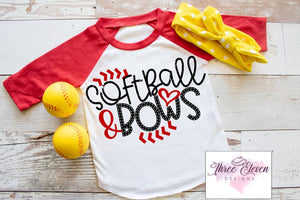 Softball and Bows - Youth
