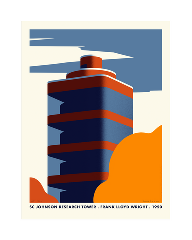 SC Johnson Tower / Frank Lloyd Wright