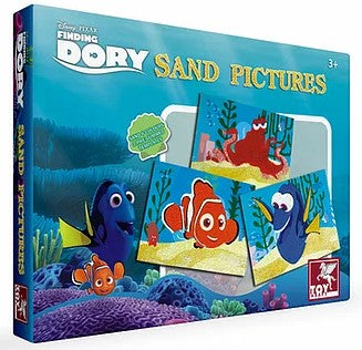 DISNEY FINDING DORY SAND PICTURES