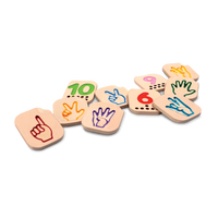Plan Toys Hand Sign Numbers 1 - 10
