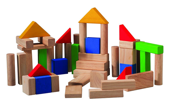 Plan Toys - 50 Building Blocks