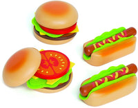 Hape Wooden Hamburgers and Hotdogs