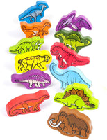HAPE ROAMING DINOSAURS LACING