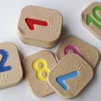 Plan Toys - Braille Numbers 1 to 10