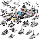 War Ship Model 17 Play Methods Deformation Building Blocks Toys - 419 Pieces