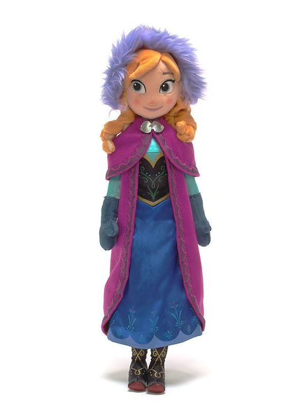 ANNA DISNEY FROZEN PLUSH DOLL