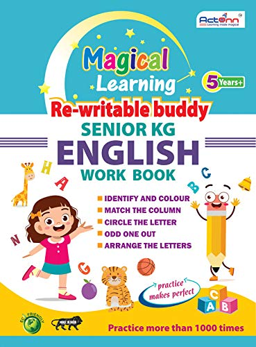 SR. KG. ENGLISH WORK BOOK