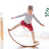 Wooden Wobble Balance Board - Gentle Monster Rocker
