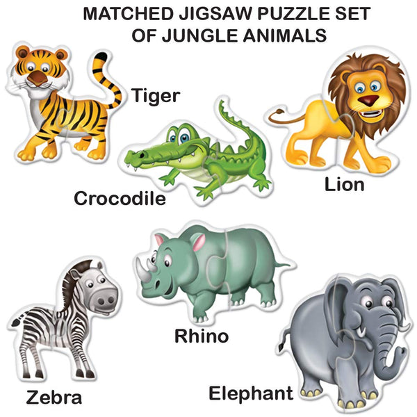 My First Puzzle - Jungle Animals