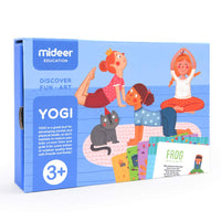 MIDEER Yogi Card Baby Fitness Game