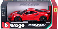 Ferrari 488 Pista 1/24 Diecast Scale Model Car